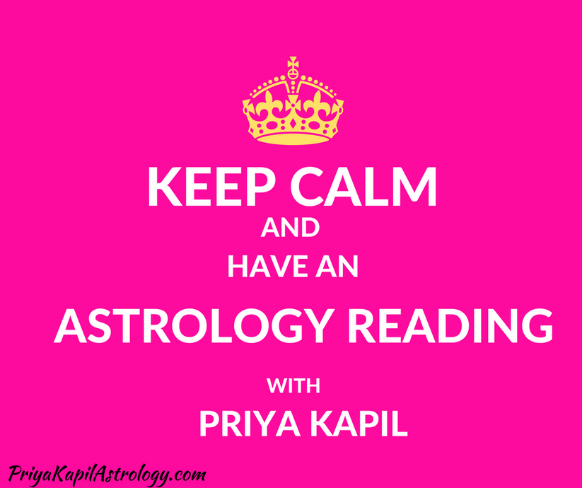 Astrology reading with Priya Kapil