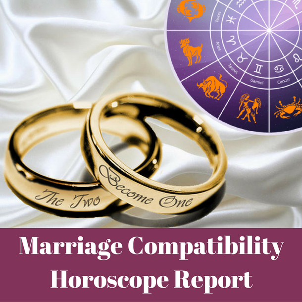 Marriage Compatibility horoscope astrology report
