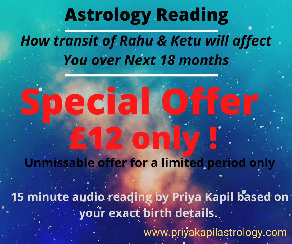 Rahu Ketu transit audio reading offer priya kapil